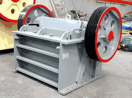 highefficiency baritejawcrusher