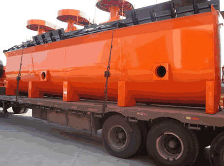Kabwe Zambia Africa new cement clinker flotation cell