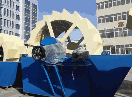 Conakry high quality large iron ore sand washing machine