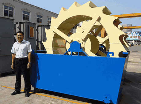 Hyderabad India South Asia low price large sand washer for