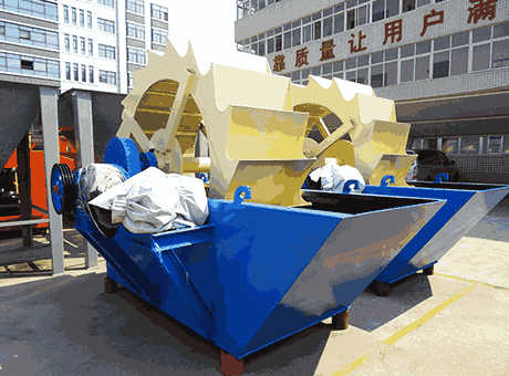 economic portable calcite sand washing machine sell in
