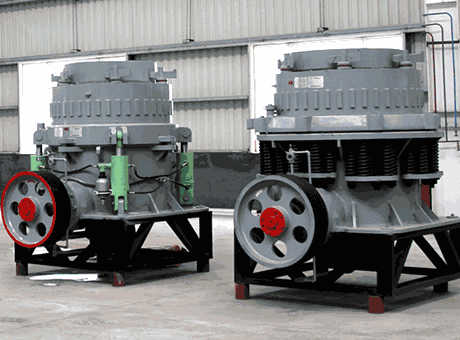 low consumption single cylinder hydraulic cone crusher for