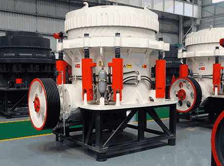 River pebble crushing selection cone crusher is more