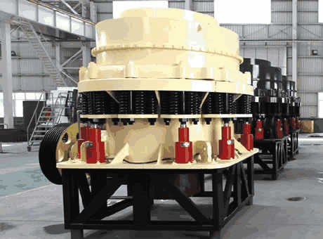 Lami tangible benefits iron ore hydraulic cone crusher