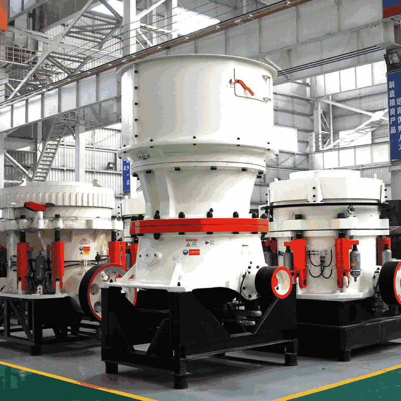 Contrast of CS Cone Crusher and HP Cone Crusher in Operation